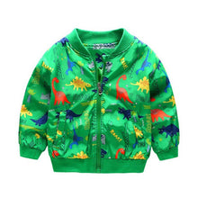 Load image into Gallery viewer, Cartoon Dinosaur Jacket