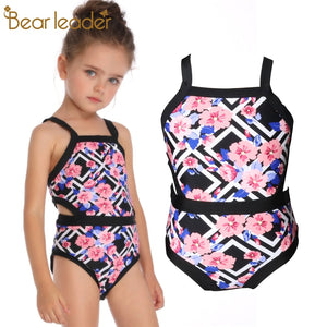 Girls Swimwear One Piece Beach Sport Bodysuit