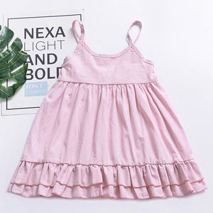 Girls Princess Flower Dress 1-5T
