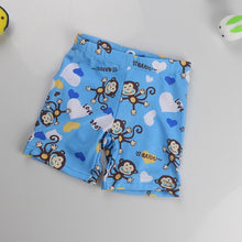 Load image into Gallery viewer, Boys Cartoon Print Swimwear Diaper Shorts