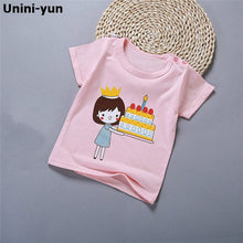 Load image into Gallery viewer, Boys Girls T-shirts Children's Tops