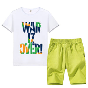 Short Sleeve T-Shirt + Pants 2 pcs