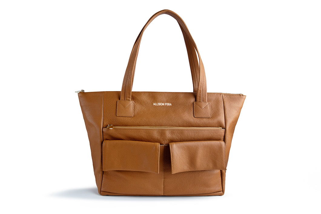 Classic Leather Bag - Flake