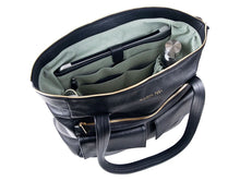 Load image into Gallery viewer, Classic Leather Bag - Black