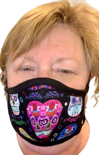 Face Masks - Sugar Skulls - Yum Treats Online