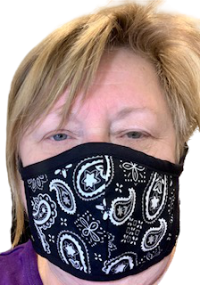 Face Masks - Paisley - Yum Treats Online
