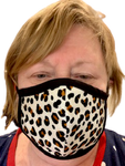 Face Masks - Small Leopard Print - Yum Treats Online