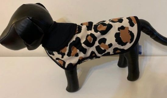 """Leopard Print"" Dog Coat - Yum Treats Online"