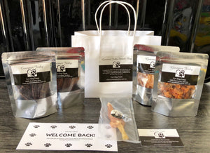 Gourmet Jerky Sample Bags - Yum Treats Online