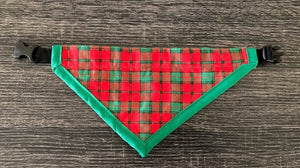 Tartan Bandana - Yum Dog Treats Online