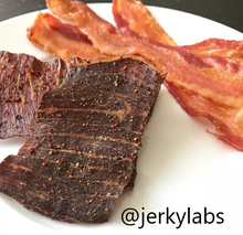 Load image into Gallery viewer, bacon jerky jerkylabs
