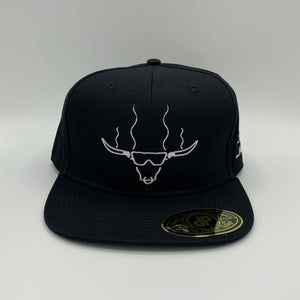 Solid Black Snap Back