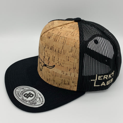 Cork/Black Snap Back