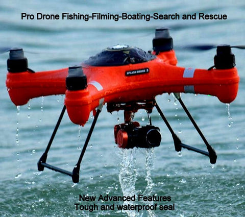 Advanced Fishing Drone-Long Range Bait-4K Camera-Filming-Search and Rescue-Boating