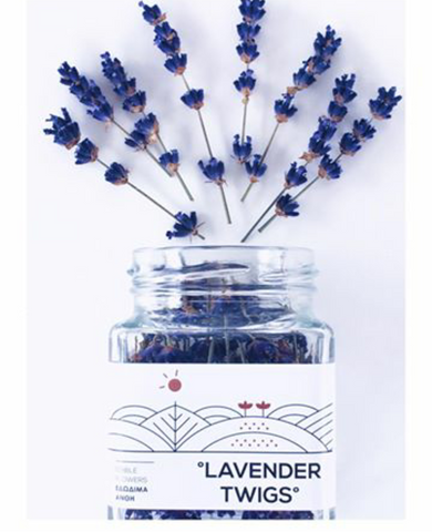 Dried Edible Lavender Twigs-100% Organic product