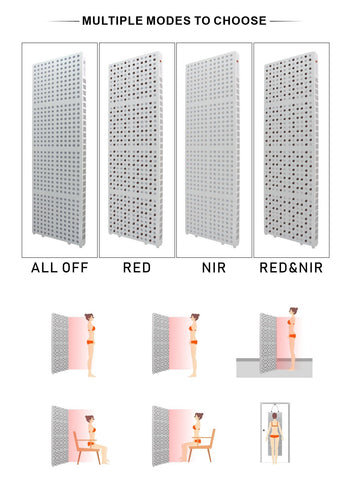 Professional Red Led Light Therapy Board-Photobiomodulation 8