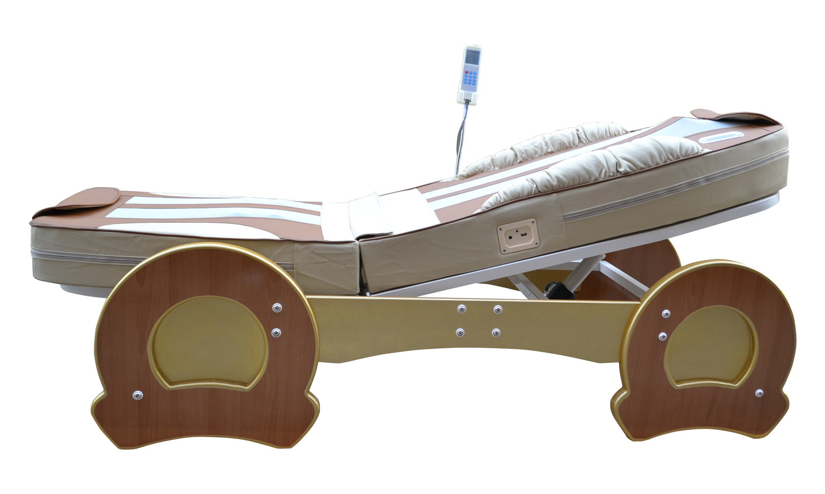 Luxury Electric Jade Rollers Massage Bed-9 working modes