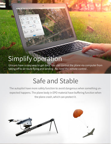 New Generation-High Tech-Unmanned Aerial Vehicle Drone safe and stable