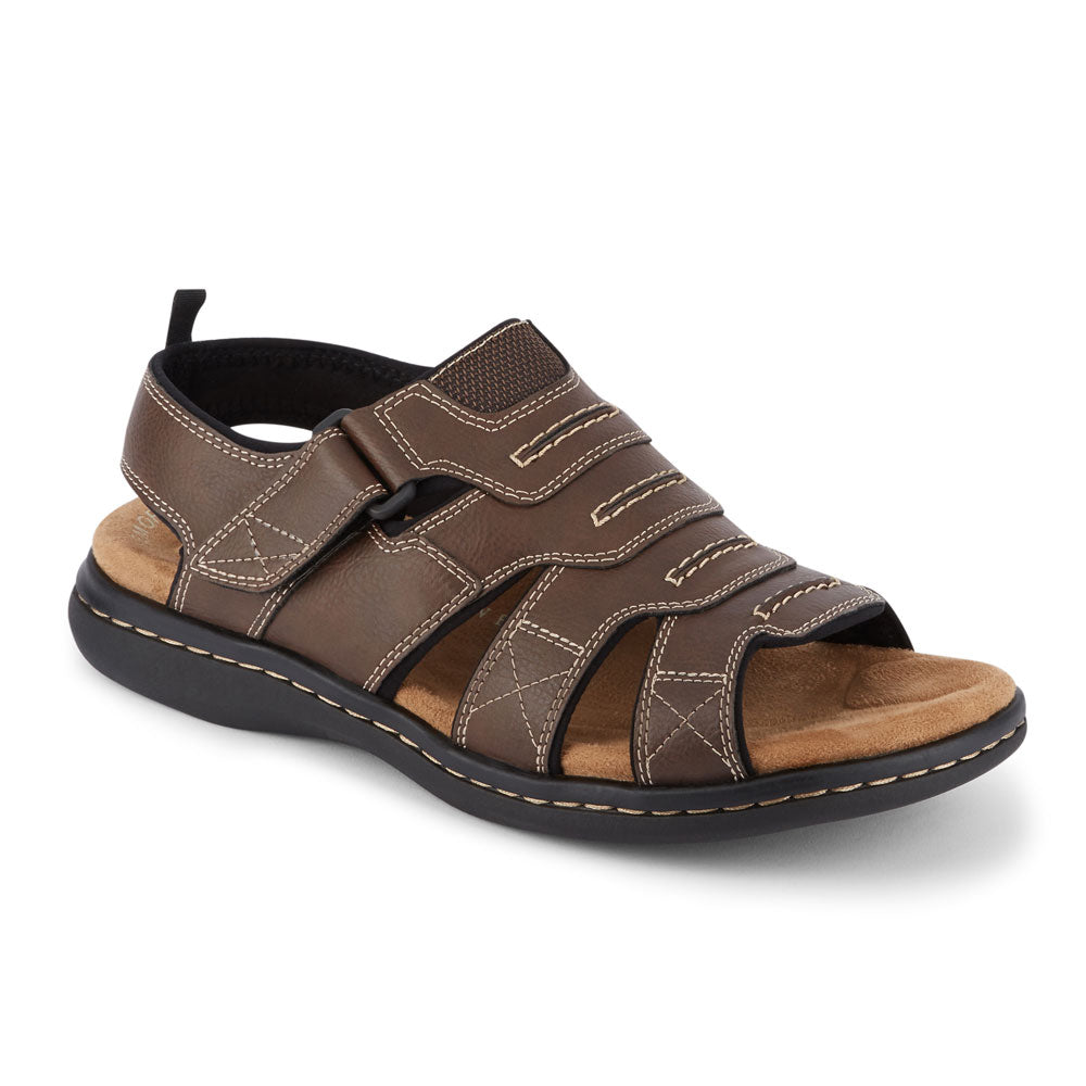 Briar-Dockers Mens Shorewood Casual Comfort Outdoor Sport Fisherman Sandal Shoe