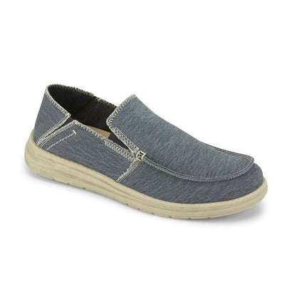 Light Navy-Dockers Mens Ferris Casual Loafer with 4-Way Stretch and FeelIt Comfort Footbed