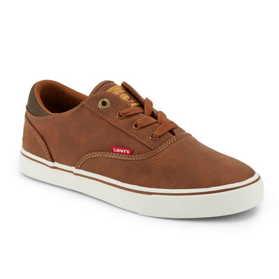 Tan-Levi's Mens Ethan Perf WX UL NB Casual Rubber Sole Fashion Sneaker Shoe