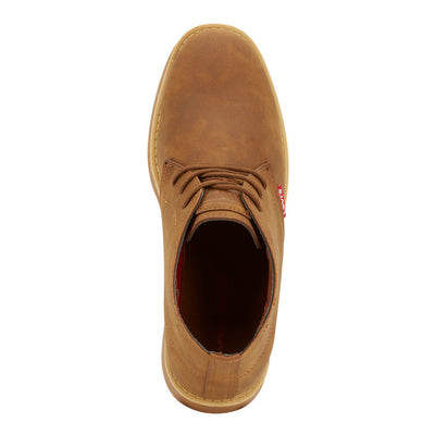 Dark Tan-Levi's Mens Sonoma Wax NB TB Fashion Nubuck Lace-up Casual Boot