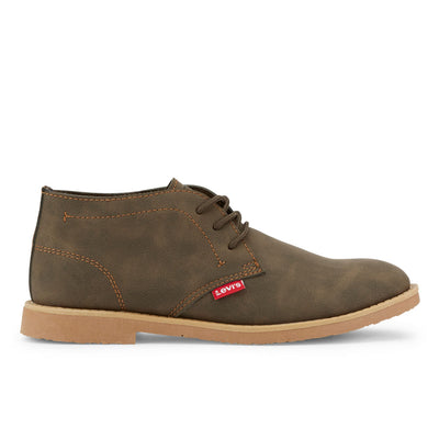 Brown-Levi's Mens Sonoma Wax NB TB Fashion Nubuck Lace-up Casual Boot
