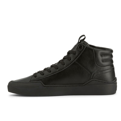 Black-Levi's Mens 521 XX Est Hi LE Synthetic Leather Fashion Hightop Sneaker Boot Shoe