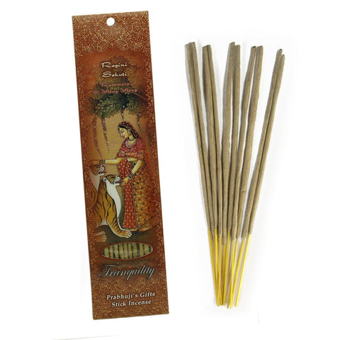 Authentic 3-Pack 10-Incense Sticks Ragini Sehuti – Rosemary, Ylang Ylang