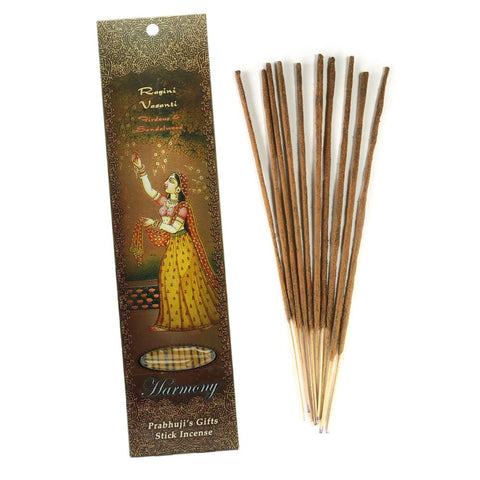 Authentic 3-Pack 10-Incense Sticks Ragini Vasanti – Firdous - Harmony