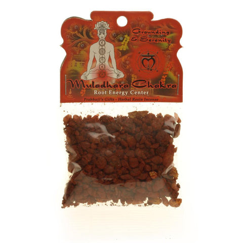 Handmade Resin Incense Root Chakra Muladhara-Grounding and Inner Peace-1.2oz bag