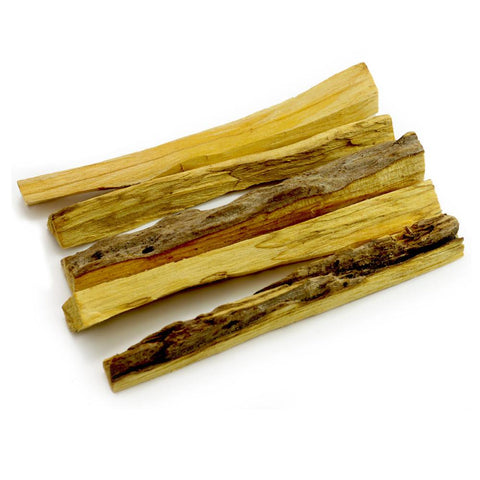 Premium Amazonian Incense Rainforest Grown Palo Santo Raw Incense Wood -5 Sticks