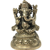 Beautiful Ganesh Ganapati India Elephant God Statue Idol – Obstacle Remover 4""