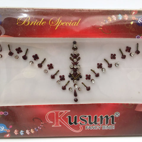 Bridal Reusable Face Jewelry Stickers India Decorative Bindi For Face or Body