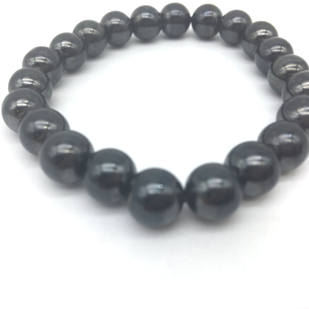 Powerful Hematite Magnetic Therapy Bracelet -Pain relief-Energy- Healing