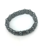 Powerful Hematite Magnetic Therapy Bracelet and Ring -Pain relief-Energy-Healing