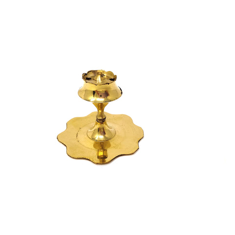 Mini Brass Stand Incense Stick Holder Ash Catcher Stick Burner Agarbatti 1.8""