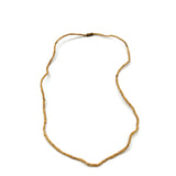 Kunti Kanthi Mala Tulasi Tulsi Tiny Beads Necklace 100% Natural Handmade 8.75""