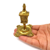 Brass Agarbatti Stick Incense Holder India Handcrafted Burner Vintage - Style 3""