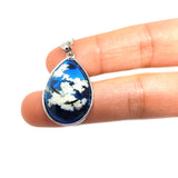 Soaring Eagles Sky Clouds Necklace Jewelry Charm Jewelry Resin Necklace Jewelry