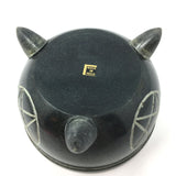 Handcrafted Pentagram Smudge Soapstone Bowl Incense Charcoal Sage Burner