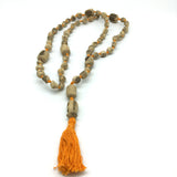 One of a Kind Uniquely Designed Tulasi Mala Handmade Necklace Japa 60 beads