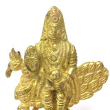 Lord Kartikeya Skanda Murugan Statue India God of War Murthi Handmade Statue