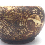 Soapstone Incense Smudging Bowl Pot Natural Henna Coloring Eastern Decorative