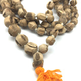 India Tulsi Tulasi Handcrafted Japa Mala Beads -108 Prayer Beads Knotted 41.5""