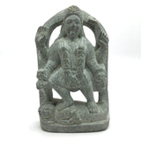 Unique Handcrafted Stone India Goddess Mata Kali Ma Standing Over Shiva Statue