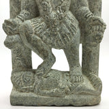 Unique Hand-carved Stone India Goddess Mata Kali Ma Standing Over Shiva Statue