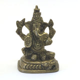 Handcrafted Detailed Brass Ganesh India Elephant God Statue– Obstacle Remover 2.