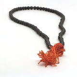 Prayer Mala Beads Chanting Japa- Garnet - Chanting Beads or Spiritual Necklace