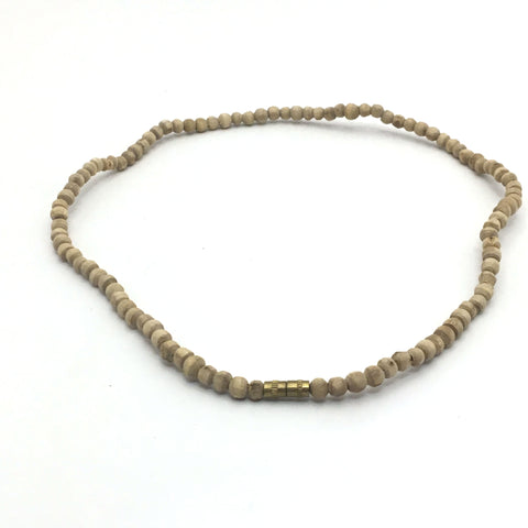 Pure Kunti Kanthi Mala Tulasi Tulsi Holy Beads Necklace 100% Natural Handmade